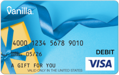 Blue Ribbon Visa Gift Card Gift Cards For All Occasions
